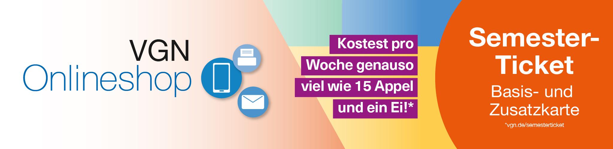 Tickets für Bus & Bahn im Großraum Nürnberg | VGN Onlineshop